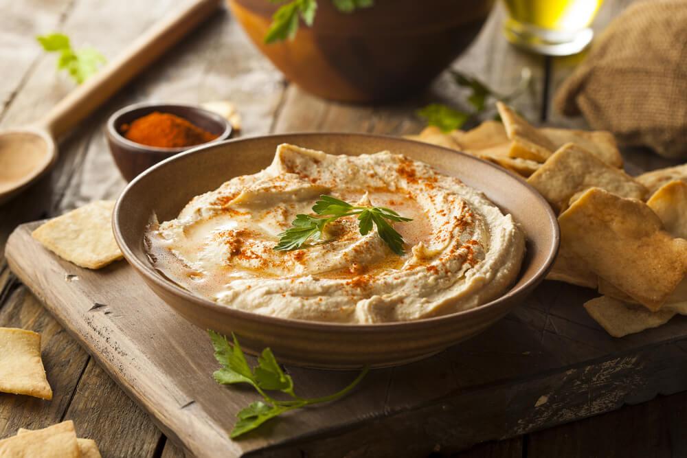 diyet kabak humus
