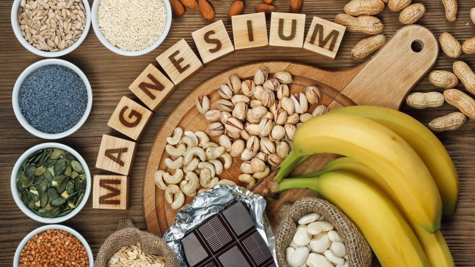 magnezyum içeren besinler