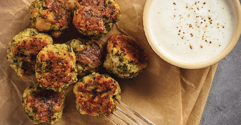 diyet brokoli köftesi
