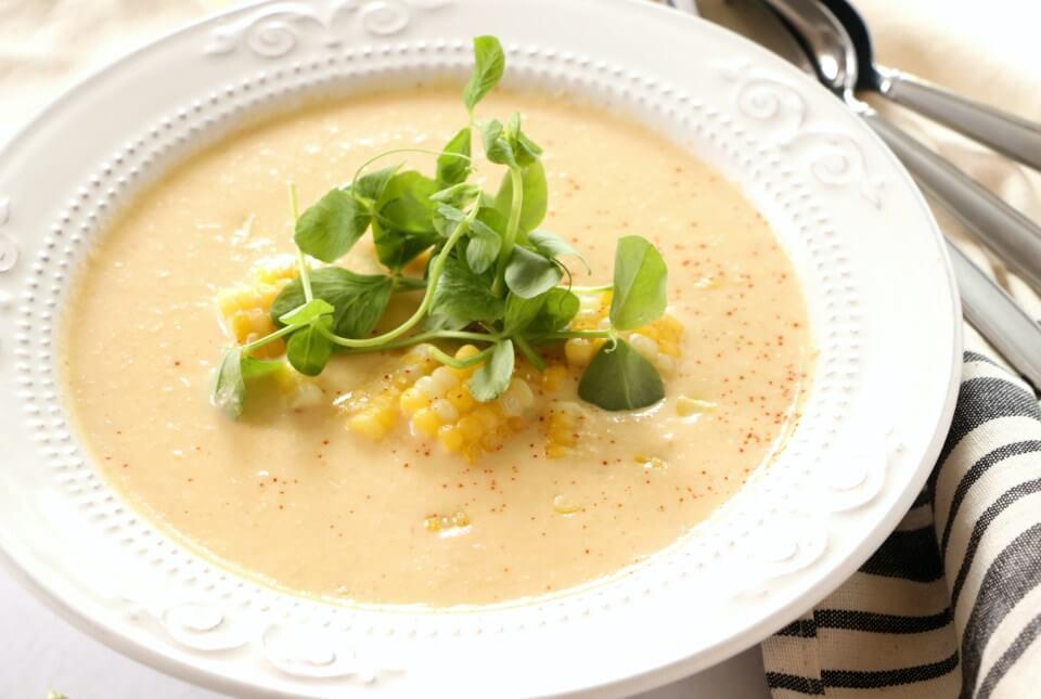 diyet mısır çorbası