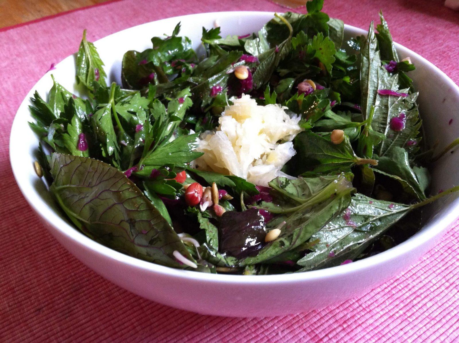 ısırgan otlu salata