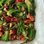 ıspanak başı salatası