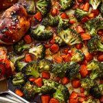 brokolili havuçlu tavuk