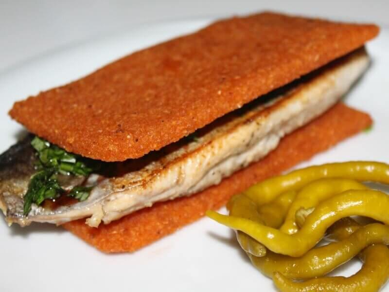 palamutlu bulgur sandviç