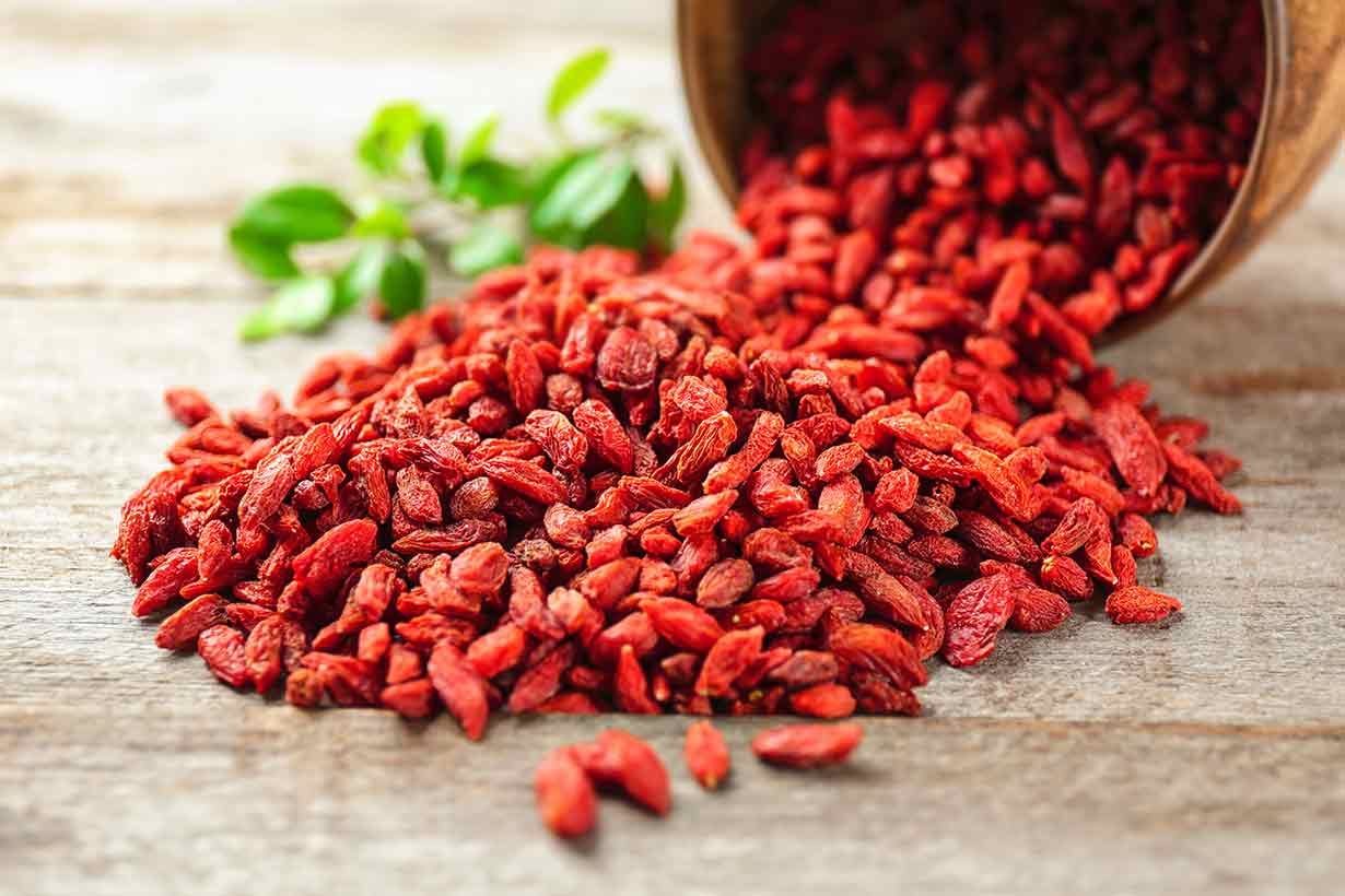 goji berry faydaları
