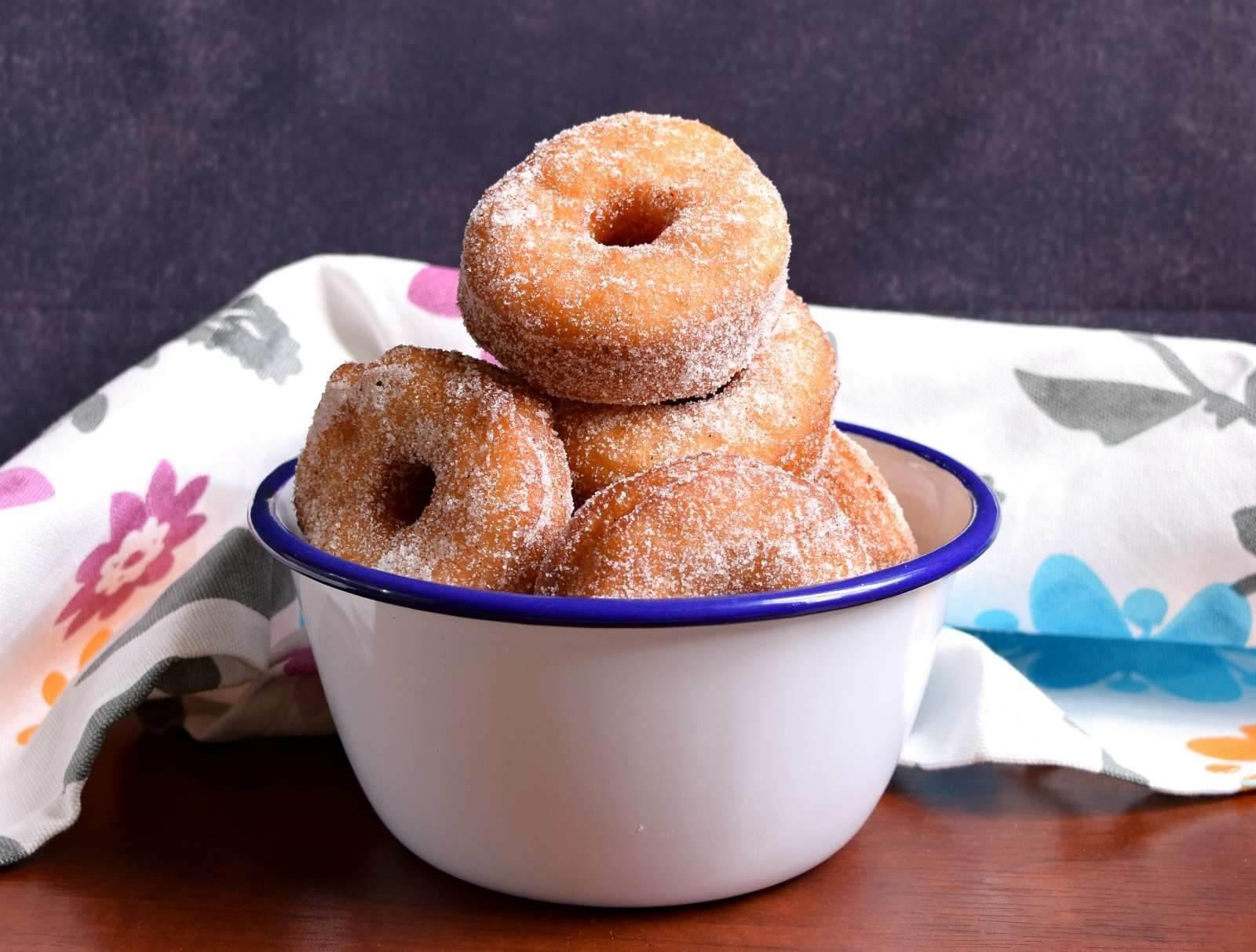 şekersiz donut