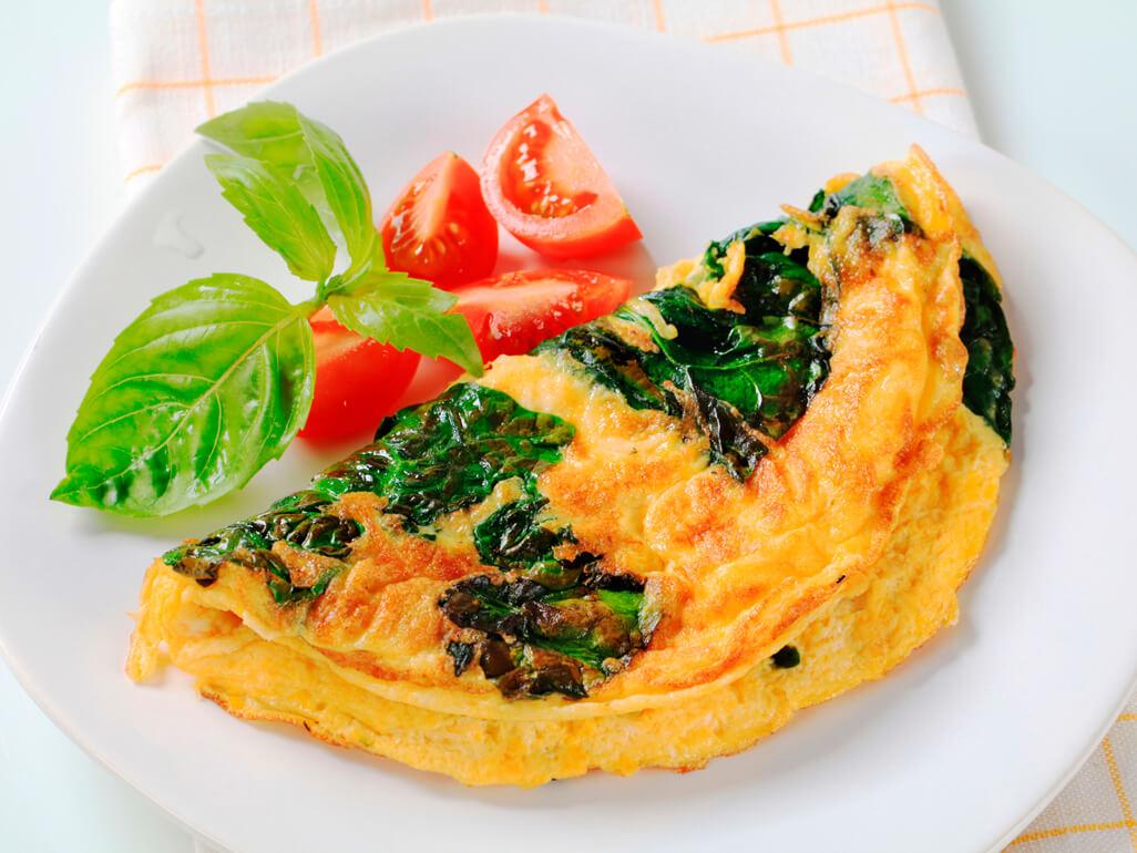 fırında pazılı omlet
