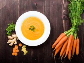 havuçlu zencefilli çorba