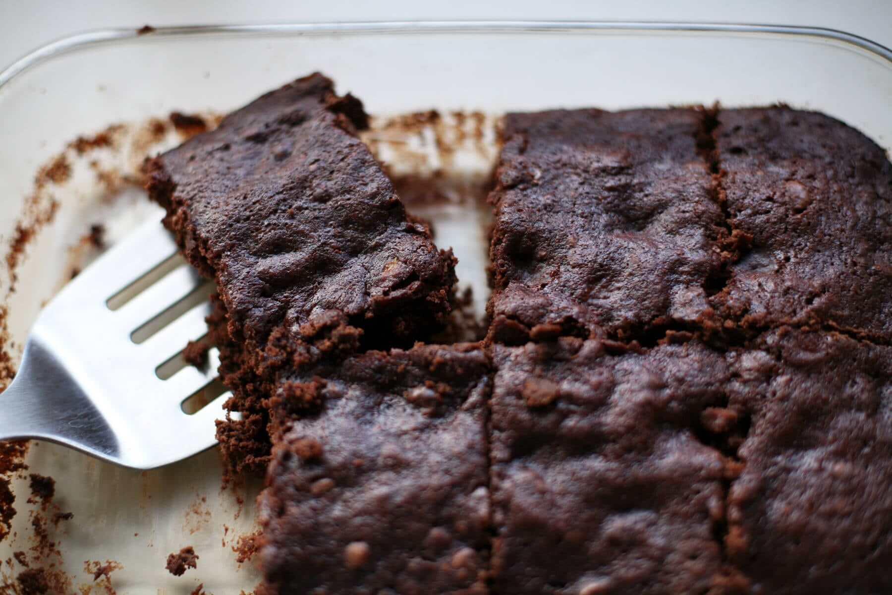 kahveli muzlu diyet brownie