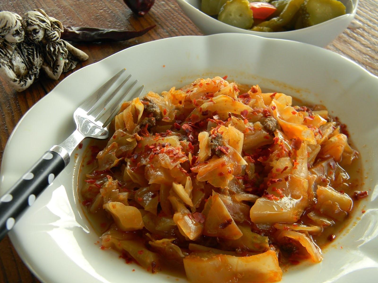 kapuska yemeği